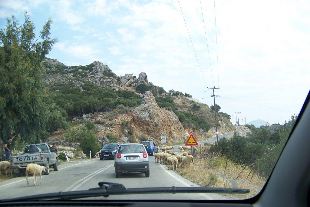 cesta ponádherné Krétě