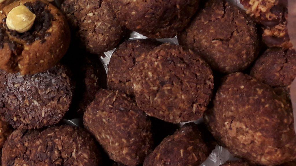 kokosové cookies
